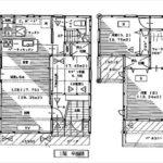 南区堀越3丁目新築 建物面積111.78㎡。4LDK+WICの間取りです。