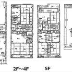 中区河原町(中古収益ビル) 建物面積428.00㎡。RC造5階建て。