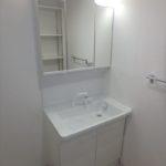 パラッシオ東雲 新設:洗髪洗面化粧台