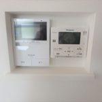 呉市焼山宮ヶ迫1丁目新築 ワンタッチで簡単操作できる給湯リモコンとTVモニター付きインターホン