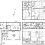 中区羽衣町新築 建物面積128.72㎡。5LDKの間取りです。(間取)