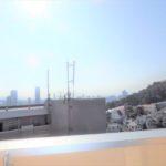東区山根町新築 2階バルコニーからの眺望です。