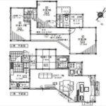 東区上温品2丁目新築 建物面積105.99㎡。4LDK+WICの間取りです。