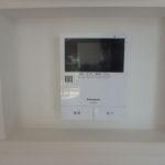 呉市焼山宮ヶ迫1丁目新築 TVモニター付きインターホンがあるので来客もひとめで分かります♪