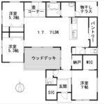 呉市焼山東3丁目新築 建物面積103.60㎡。4LDK+納戸+WICの間取りです。
