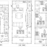 安芸郡府中町本町4丁目新築 建物面積117.37㎡。3LDK+納戸の間取りです。