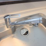 西区中広町2丁目新築 清潔で安心の浄水器一体型水栓