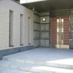 アンヴェール比治山公園 エントランス入口