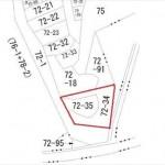 東区牛田東2丁目土地 敷地面積561.00㎡(169.70坪)です。