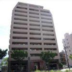 クレアシティ段原リバーパーク 外観。13階建ての4階部分です。