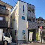 中区吉島新町1丁目新築 外観。令和3年3月完成です!