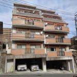 もみじマンション柳ヶ丘 外観。6階建ての3階部分です。