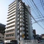 ヴェルディ海田はなみずき通り 外観。12階建ての8階部分です。