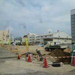 中区南千田東町新築 現地。令和3年10月末完成予定です。