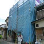 南区向洋本町新築 現地。令和3年9月完成予定です。