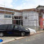 呉市焼山東3丁目新築 外観。令和3年10月完成。木造平屋建てです。