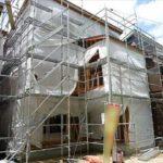 南区向洋大原町新築 外観。令和3年8月完成予定です。