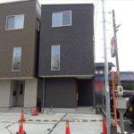安芸郡府中町本町4丁目新築 外観。令和3年7月完成済です。
