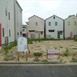 中区舟入南1丁目土地 現地。建築条件付きの土地です。