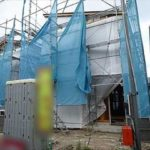 東区福田7丁目新築 現地。令和3年12月上旬完成予定です。(外観)