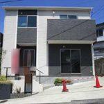 東区戸坂山根3丁目中古 外観。木造2階建てです。
