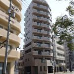 エスパスリバーサイド堺町 外観。10階建ての3~4階部分です。