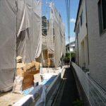 南区向洋大原町新築 外観。令和3年10月完成予定です。