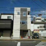 中区千田町2丁目新築 外観。令和3年9月末完成済です。