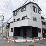 中区羽衣町新築 外観。令和3年5月完成です。