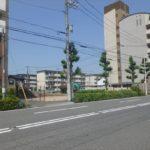中区吉島新町1丁目 現地。令和元年10月末完成予定です。