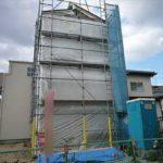 南区翠3丁目新築 現地。令和元年10月末完成予定です。(外観)