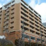 パークヒルズ高陽アネックス 外観。8階建ての7階部分です。