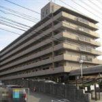戸坂第2CO-OPマンション 外観。7階建ての4階部分です。