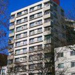 シーアイマンション広島 外観。11階建ての7階部分です。