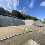 中区吉島新町1丁目新築 外観。木造3階建てです。