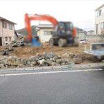 東区中山新町2丁目新築 現地。令和2年4月下旬完成予定です。
