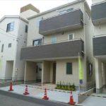 中区吉島新町1丁目新築 外観。令和元年10月末完成済です。