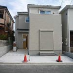 南区西本浦町新築 外観。令和元年10月完成済です。