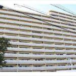 ペルル中山南参番館 外観。14階建ての9階部分です。(外観)