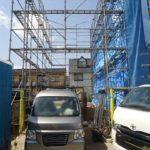 中区吉島西2丁目新築 現地。令和2年6月末完成予定です。