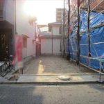 南区宇品御幸5丁目新築 現地。令和2年11月完成予定です。
