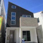 東区矢賀3丁目新築 外観。令和2年2月完成済みです。