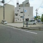 中区千田町3丁目土地 現地。現況駐車場となっております。