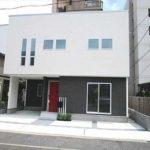 東区牛田本町4丁目新築 外観。令和2年6月完成済です。