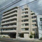 草津東コープマンション 外観。7階建ての4階部分です。