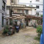 ロッコーマンション竹屋町 外観。7階建ての2階部分です。