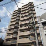 藤和己斐本町ホームズ弐番館 外観。14階建ての4階部分です。