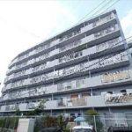 金剛地マンション 外観。10階建ての6階部分です。