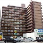 ヴェル八丁堀 外観。12階建ての11階部分です。
