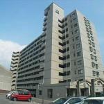 グレイス高陽 外観。11階建ての9階部分です。